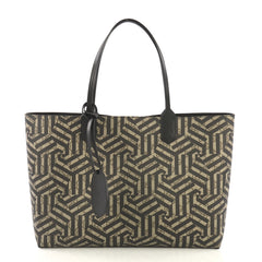 Gucci Reversible Tote Caleido GG Print Leather Medium Brown 414171