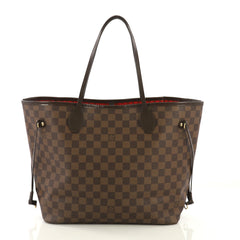 Louis Vuitton Neverfull Tote Damier MM Brown 4143312