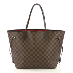 Louis Vuitton Neverfull Tote Damier MM Brown 4143322