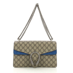 Gucci Dionysus Bag GG Coated Canvas Small Brown 414401