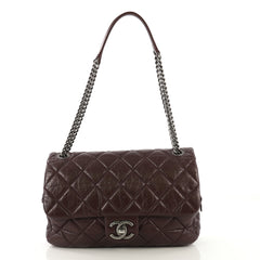Chanel Model: Portobello Flap Bag Quilted Aged Calfskin Jumbo Red 41478/1