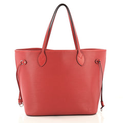 Louis Vuitton Neverfull Tote Epi Leather MM Red 414881