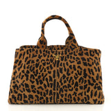 Prada Tote Cavallino Calf Hair Large Brown 4149911