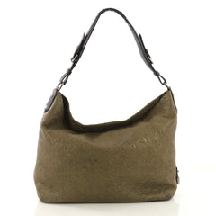 Louis Vuitton Antheia Hobo Leather PM Green 415161