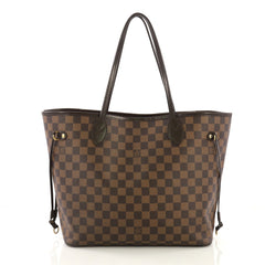 Louis Vuitton Neverfull NM Tote Damier MM Brown 415271