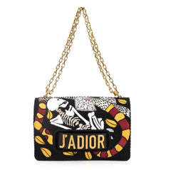 Christian Dior J'adior Tarot Flap Bag Embroidered Fabric 4160425