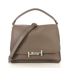 Tod's Double T Crossbody Bag Leather Medium - Rebag