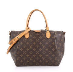 Louis Vuitton Turenne Handbag Monogram Canvas MM