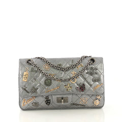 Chanel Lucky Charms Reissue 2.55 Flap Bag Quilted Aged 416331