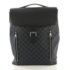 Louis Vuitton Newport Backpack Damier Cobalt Blue 416411