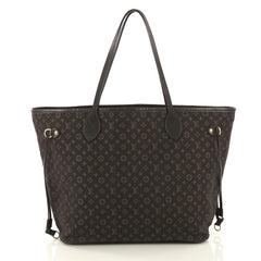 Louis Vuitton Neverfull Tote Monogram Idylle MM Brown 41692134