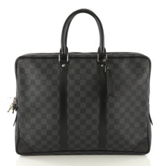 Louis Vuitton Porte-Documents Voyage Briefcase Damier Graphite