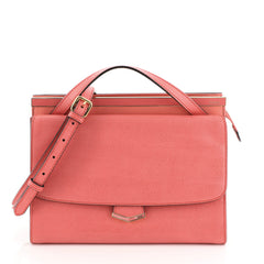 Fendi Demi Jour Satchel Leather