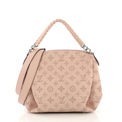 Louis Vuitton Babylone Handbag Mahina Leather BB
