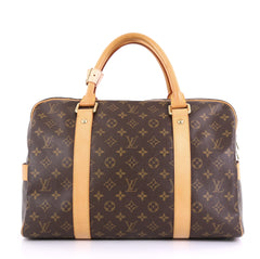 Louis Vuitton Carryall Handbag Monogram Canvas Brown 416997