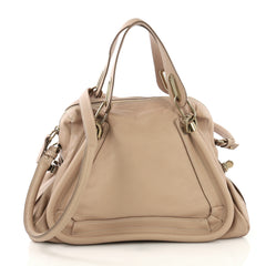 Paraty Top Handle Bag Leather Medium