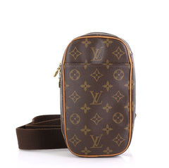 Louis Vuitton Pochette Gange Monogram Canvas Brown 4170063