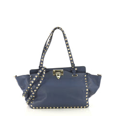 Valentino Rockstud Tote Soft Leather Small