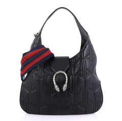 Gucci Dionysus Hobo Matelasse Leather Small Black 417481