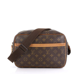 Louis Vuitton Reporter Bag Monogram Canvas PM Brown 417511