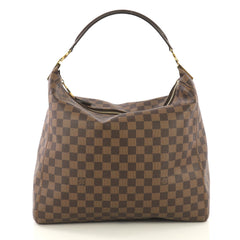 Louis Vuitton Portobello Handbag Damier GM Brown 417811