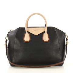 Givenchy Tricolor Antigona Bag Leather Medium Black 4178515