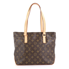 Louis Vuitton Cabas Piano Monogram Canvas Brown 418131