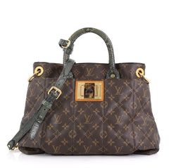 Louis Vuitton Limited Edition Exotique Handbag Monogram Etoile MM