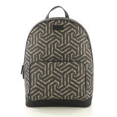 41a0433fe22 Gucci Zip Pocket Backpack Caleido Print GG Coated Canvas 4189150