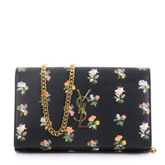 Saint Laurent Classic Monogram Wallet on Chain Printed 419461