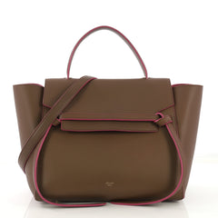 Celine Belt Bag Calfskin Mini Brown 420012