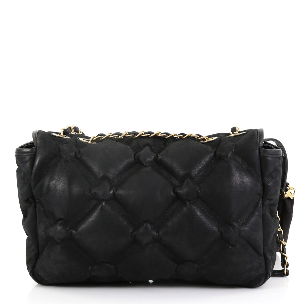 793080ba4c3c Chanel Chesterfield Flap Bag Quilted Iridescent Calfskin 420423 – Rebag