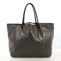 Goyard St. Louis Tote Coated Canvas GM Brown 420642