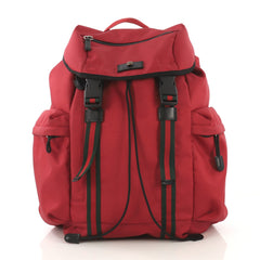 Gucci Techpack Backpack Techno Canvas Red 4206901