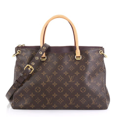 0db049c37054 Louis Vuitton Pallas Tote Monogram Canvas - Rebag