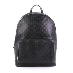 Gucci Signature Pocket Backpack Guccissima Leather Large 421341