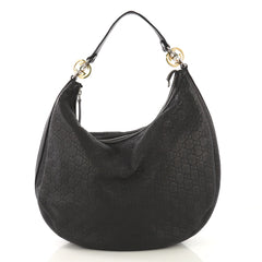 Gucci Twins Hobo Guccissima Leather Medium - Rebag