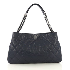 Chanel Timeless CC Expandable Tote Quilted Caviar Medium