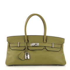 Hermes Birkin JPG Handbag Green Togo with Palladium 42196102