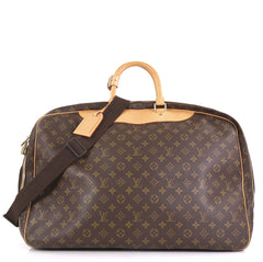 Louis Vuitton Alize Bag Monogram Canvas 2 Poches Brown 42196107