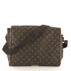 Louis Vuitton Abbesses Bag Monogram Canvas Brown 42196134