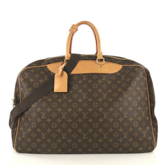 Louis Vuitton Alize Bag Monogram Canvas 3 Poches Brown 42196136