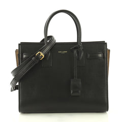 Saint Laurent Sac de Jour Bag Leather Baby Black 4219638