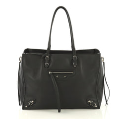 Balenciaga B4 Zip Around Tote Leather Black 4219647