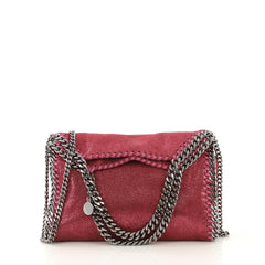 Stella McCartney Falabella Fold Over Crossbody Bag Shaggy 4219668