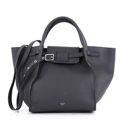 Celine Big Bag Grained Calfskin Small - Designer Handbag - Rebag