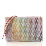 Christian Louboutin Loubiclutch Spiked Multicolor Leather 4224022