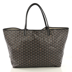 Goyard St. Louis Tote Coated Canvas GM Brown 4224024
