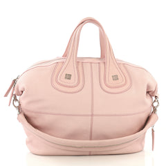 Givenchy Nightingale Satchel Leather Medium Pink 422422