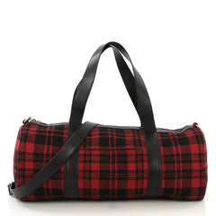 Saint Laurent Convertible Weekender Bag Wool - Rebag